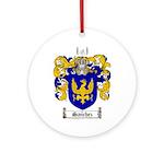 Sanchez Coat of Arms Ornament (Round)