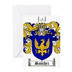 Sanchez Coat of Arms Greeting Cards (Pk of 10)