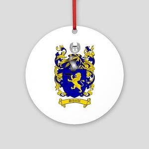 Schmidt Coat of Arms Ornament (Round)