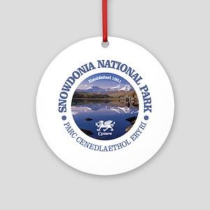 Snowdonia NP Round Ornament