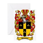 Simmons Coat of Arms Greeting Card
