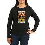 Simmons Coat of Arms Women's Long Sleeve Dark T-Sh