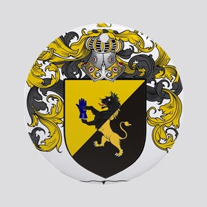 Simpson Coat of Arms Ornament (Round)