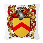 Stafford Coat of Arms Woven Throw Pillow