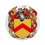 Stafford Coat of Arms Ornament (Round)