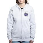 Stevens Coat of Arms Women's Zip Hoodie