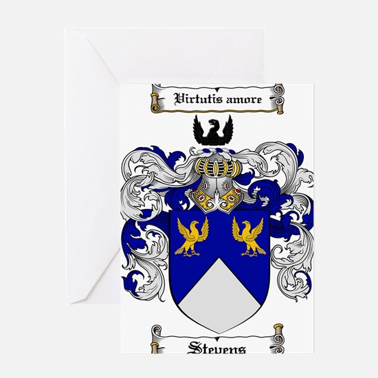 Stevens Coat of Arms Greeting Card
