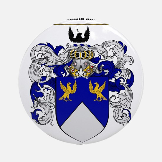 Stevens Coat of Arms Ornament (Round)