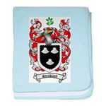 Strickland Coat of Arms baby blanket