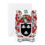 Strickland Coat of Arms Greeting Card