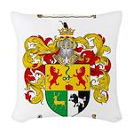 Sullivan Coat of Arms Woven Throw Pillow