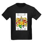 Sullivan Coat of Arms Kids Dark T-Shirt