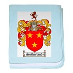 Sutherland Coat of Arms baby blanket