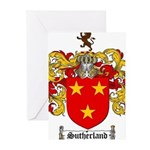 Sutherland Coat of Arms Greeting Cards (Pk of 10)