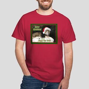 Helaine's Lion Xmas Dark T-Shirt