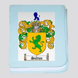 Sutton Coat of Arms baby blanket