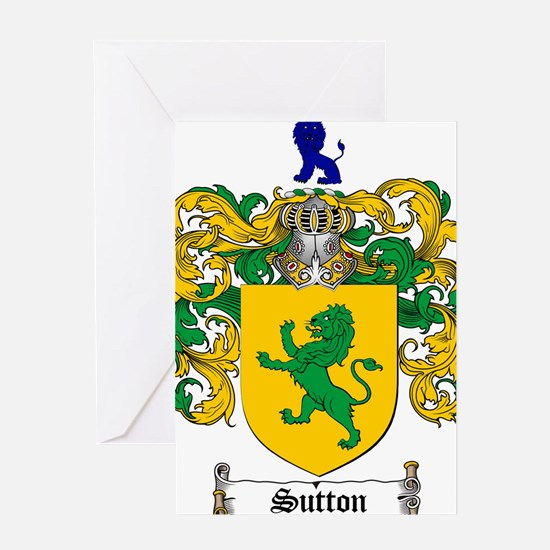 Sutton Coat of Arms Greeting Card