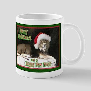 Helaine's Lion Xmas Mug