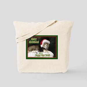 Helaine's Lion Xmas Tote Bag