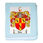 Tate Coat of Arms baby blanket