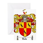 Tate Coat of Arms Greeting Cards (Pk of 10)
