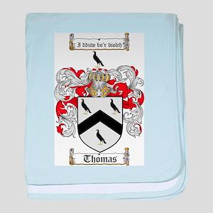 Thomas Coat of Arms baby blanket
