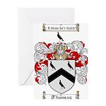 Thomas Coat of Arms Greeting Card
