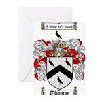 Thomas Coat of Arms Greeting Cards (Pk of 10)