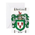 Todd Coat of Arms Greeting Card