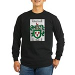 Todd Coat of Arms Long Sleeve Dark T-Shirt