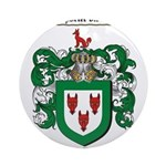 Todd Coat of Arms Ornament (Round)
