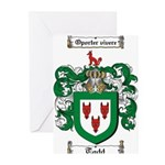 Todd Coat of Arms Greeting Cards (Pk of 10)