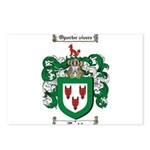 Todd Coat of Arms Postcards (Package of 8)