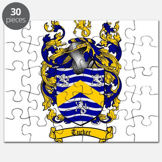 Tucker Coat of Arms Puzzle