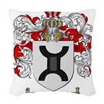 Turner Coat of Arms Woven Throw Pillow