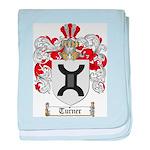 Turner Coat of Arms baby blanket