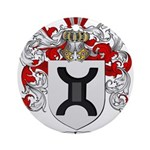 Turner Coat of Arms Ornament (Round)