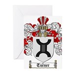 Turner Coat of Arms Greeting Cards (Pk of 10)