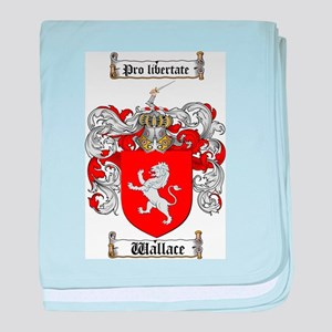 Wallace Coat of Arms baby blanket