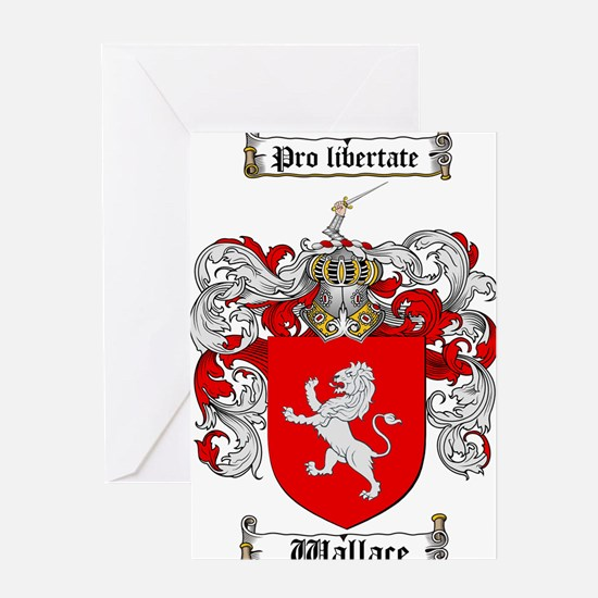 Wallace Coat of Arms Greeting Card
