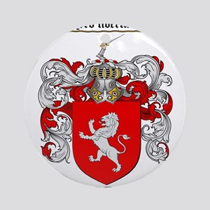 Wallace Coat of Arms Ornament (Round)