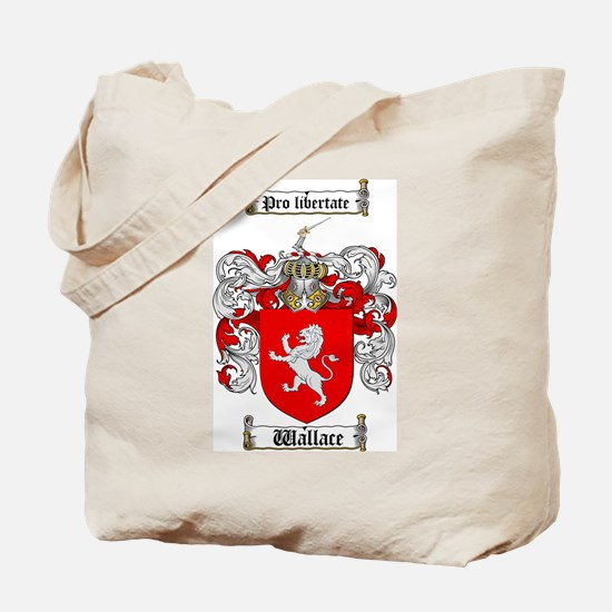 Wallace Coat of Arms Tote Bag