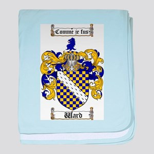 Ward Coat of Arms baby blanket