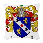Webster Coat of Arms Woven Throw Pillow