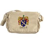 Webster Coat of Arms Messenger Bag