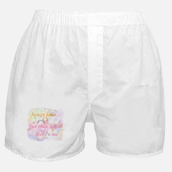 beauty fades... plastic surge Boxer Shorts