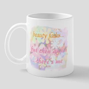 beauty fades... plastic surge Mug