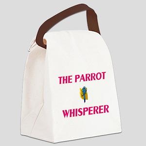 The Parrot Whisperer Canvas Lunch Bag