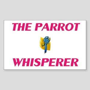 The Parrot Whisperer Sticker