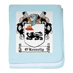 O'Kennelly Coat of Arms baby blanket